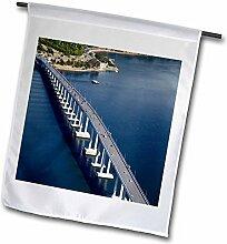 3dRose FL 70736_ 2,5cm Tasman Brücke, Fluss