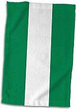 3dRose Flagge von Nigeria, nigerianische grün