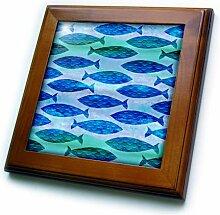 3dRose Fliese mit Unterwasser-Motiv, 15,2 x 15,2