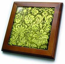 3dRose FT 32492_ 1Deko Vintage Floral Tapete