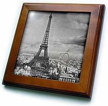 3dRose FT_6793_1 Fliese Eiffelturm Paris France