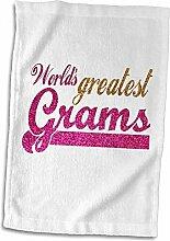 3dRose Greatest Gramm, Großmutter in der Welt,