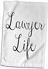 3dRose Handtuch, Bild des Anwaltszitats