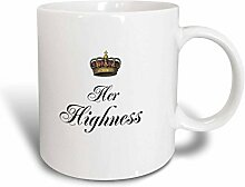 3dRose Her Highness, Geschenkidee für Sie und