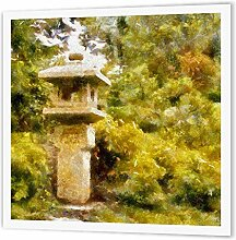 3dRose HT 40587_ 1Japanischer Garten Stein
