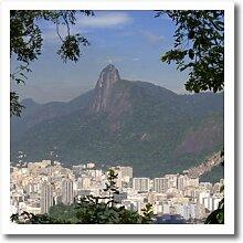 3dRose HT 85682Silber 3Rio de Janeiro,