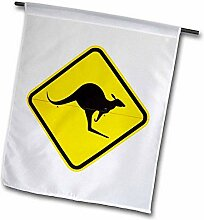3dRose Känguru Warnschild Australien AU01 DWA4640