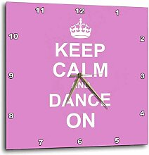 3dRose Keep Calm and Carry On Dancing-Gifts für