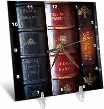 3dRose Kollektion Klassischer Antik Bücher von