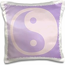 3dRose lila Yin Yang- Spirituality- Balance-