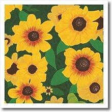 3dRose LLC Patch von Sonnenblumen Bild 6von