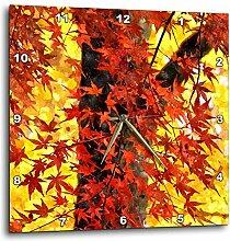 3dRose Lovely Ahorn Baum mit Herbst rot Blätter