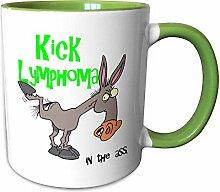 3dRose mug_115628_7 Kick Lymphoma In The Ass