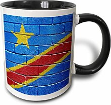 3dRose mug_155208_4 Becher, keramik, schwarz