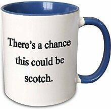 3dRose mug_157376_6 Becher, keramik, blau