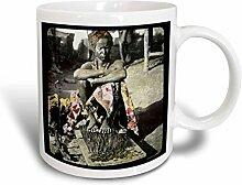 3dRose mug_16180_2 Becher, Keramik, mehrfarbig
