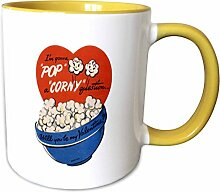 3dRose Mug_172169_8 Popcorn Corny Vintage