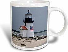 3dRose Mug_206378_2 Becher, Keramik, Weiß, 15 oz