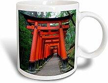 3dRose mug_207289_3 Becher, schwarz/weiß