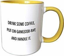 3dRose mug_243965_8 DRINK SOME COFFEE, PUT ON