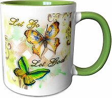 3dRose mug_55923_7 Go Let God butterfly digital