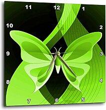 3dRose One groß grün Schmetterling auf eine