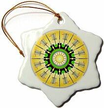 3dRose ORN_174247_1 Sunny Baskets Frisbee Disc