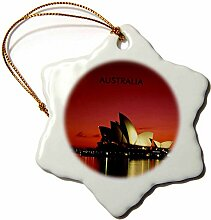 3dRose ORN 60672_ 1Night Time Bild von Sydney