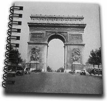 3dRose, Paris Triumphbogen circa-Magische Laterne,