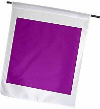3drose Pflaume violett–Mulberry–Reiche rötliches Violett–Farbe–Garden Flagge, 12durch 45,7cm