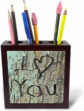3dRose PH 42689_ 1I Love You auf A Tree-Fun