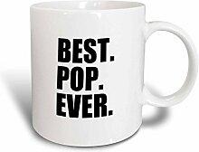 3dRose Pop Ever Geschenke für Väter Spitznamen