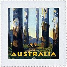 3dRose QS 171262_ 2Australien Forest von