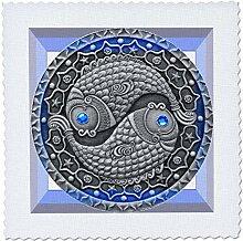 3dRose QS 66291_ 5Sydney, Australien violett