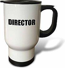 3dRose Regiestuhl, Filme, Schwarz-Weiß, –, Film
