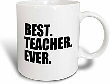 3dRose Teacher Ever, für Schule, Lehrer,