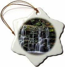 3dRose USA Pennsylvania Benton, Wasserfall,
