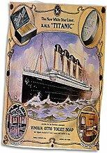 3dRose Vintage Star Line Titanic Vinolia Otto