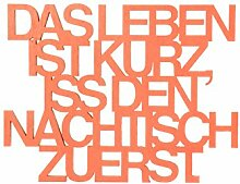 3DTYPO - made by NOGALLERY - Das Leben ist kurz,