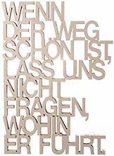 3DTYPO - made by NOGALLERY - Wenn der Weg schön