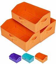 3er-Pack Schrank-Organizer und Aufbewahrung,