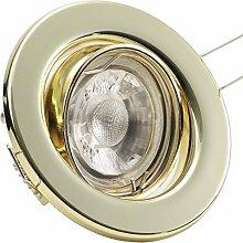 3er Set Einbaustrahler DECORA; 230V; LED 4W = 40W;