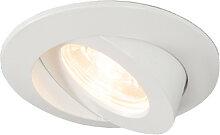 3er Set Einbaustrahler inkl. LED IP44 - Relax LED