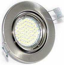 3er Set Einbaustrahler Mia IP20 GU10 60er SMD LED