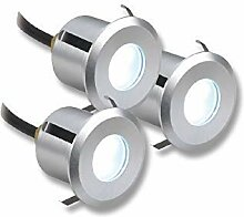 3er Set Lampenlux LED Einbaustrahler Siro