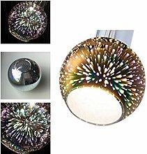 3er Set Lampenschirm , Glas , Ersatzglas , Schirm