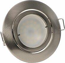 3er-Set LED Einbaustrahler PAGO 230V Farbe: