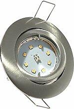 3er Set LED SMD Einbaustrahler Lino 230Volt.