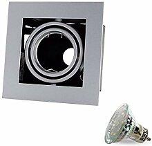 3er SET Q-41 Kardanisch 230V LED inkl. LED 4W