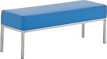 3er Sitzbank Lamega 120x40-blau